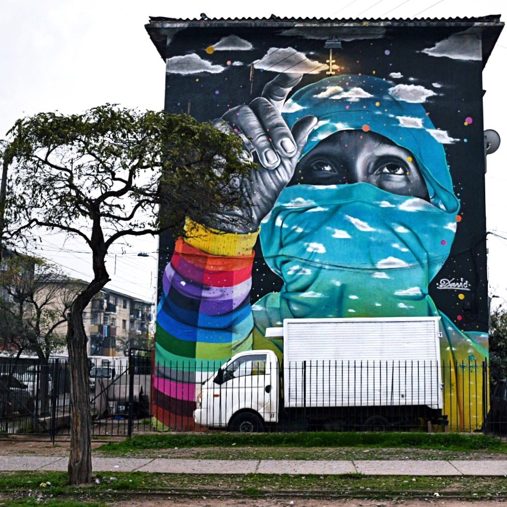 A STREET ART GUIDE TO SANTIAGO, CHILE