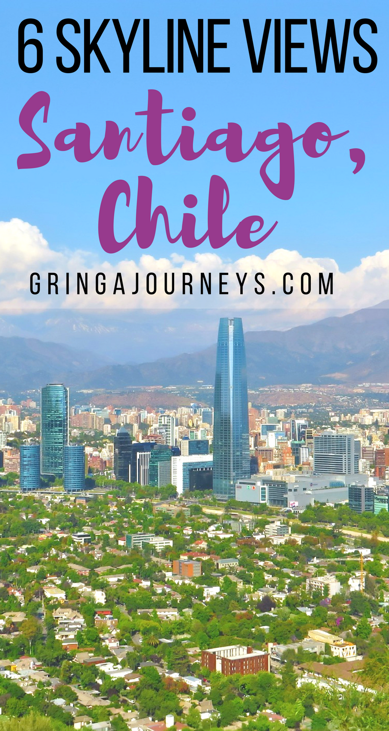 The best way to see the sprawling city of Santiago, Chile is definitely up high. Here is my list of places to catch the best views.