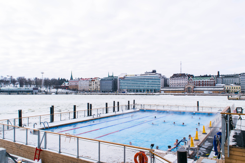 Allas Sea Pool Helsinki Finland