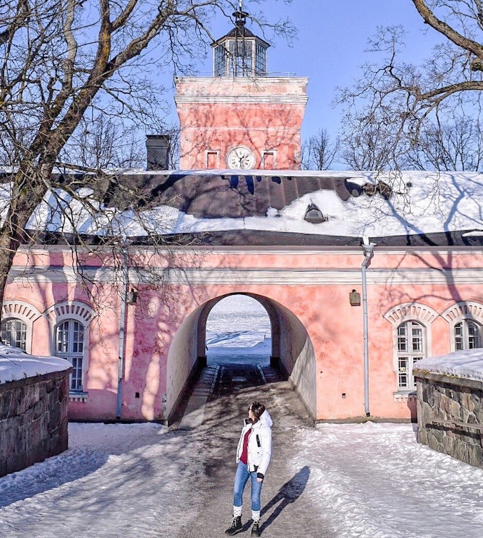 Suomenlinna sea fortress Helsinki Finland