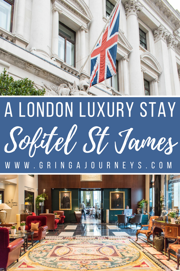 Staying at the Sofitel London St James is truly a luxury experience. For those seeking a London hotel with prime location, this is it!