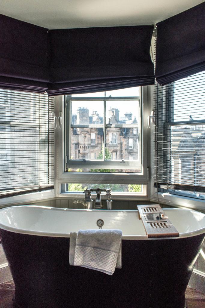 Hotel du vin Edinburgh bath tub