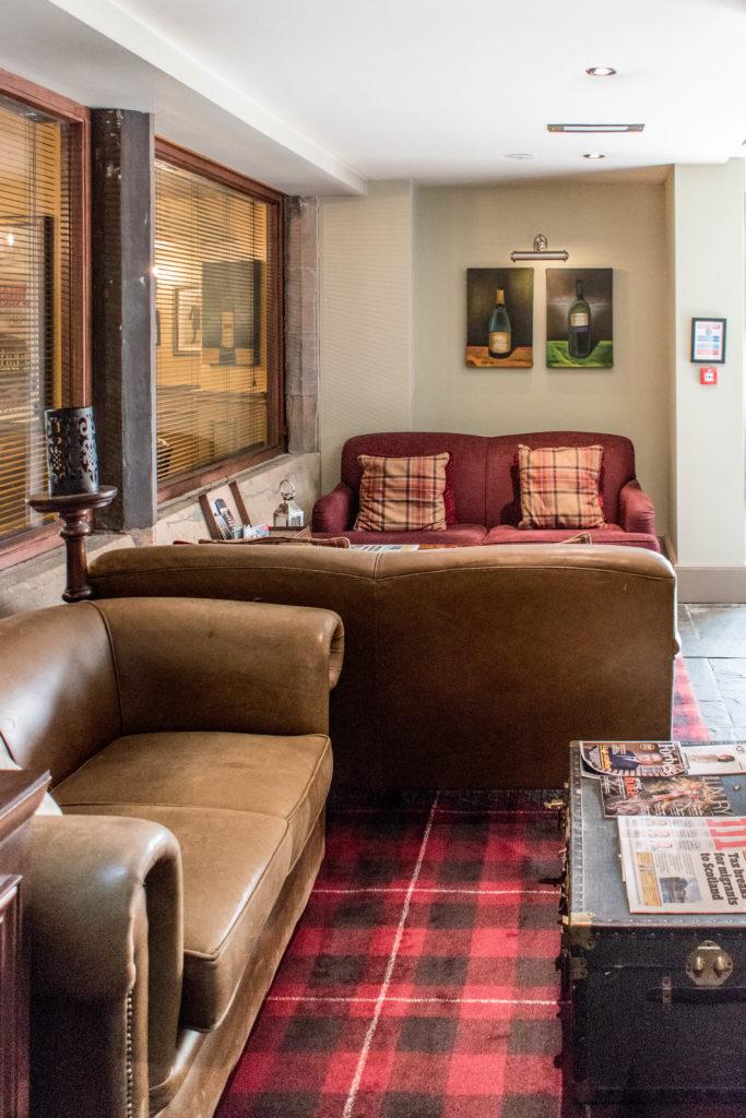 Hotel du vin Edinburgh lobby