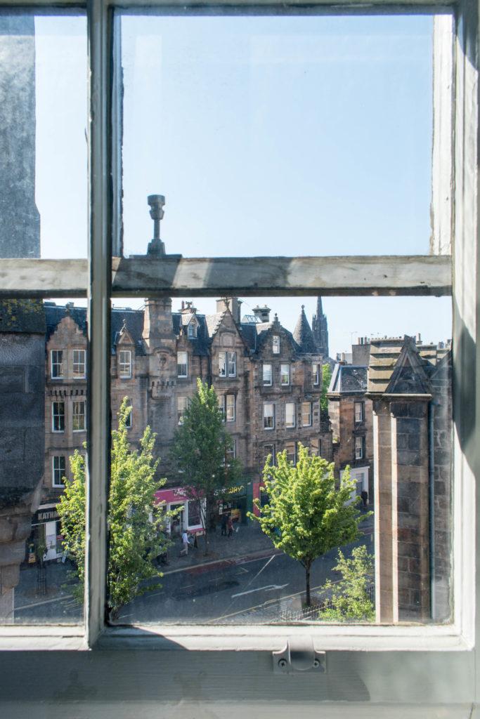 Hotel du vin Edinburgh view