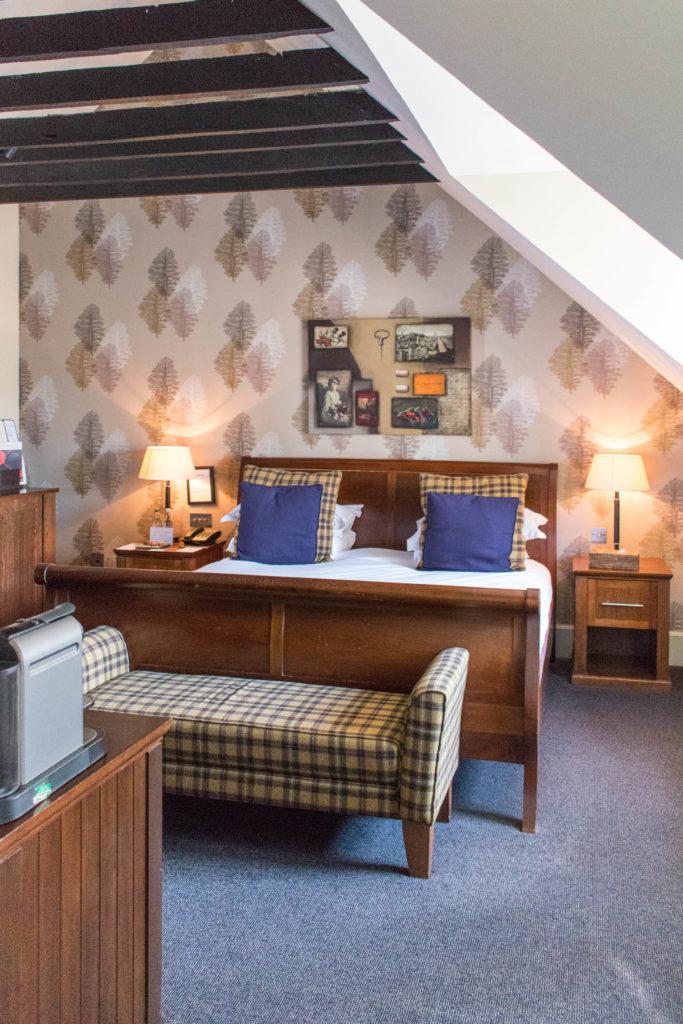 Hotel du vin Edinburgh bedroom