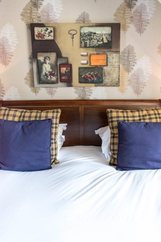 Hotel du vin Edinburgh bedding