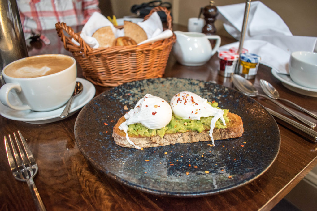 Hotel du vin Edinburgh breakfast