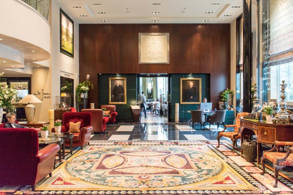 Sofitel London St James lobby