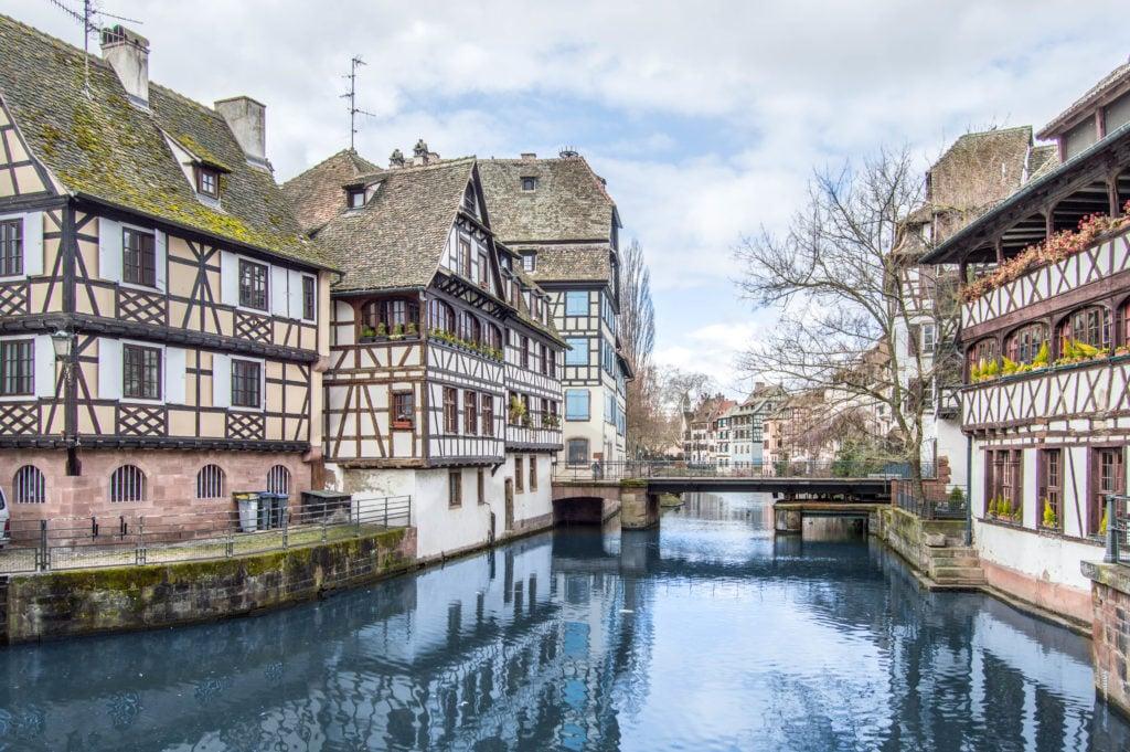 Petite France quarter in Strasbourg, France