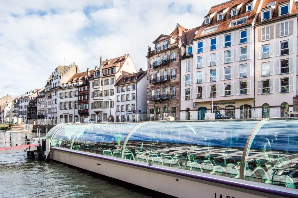 Batorama tour of Strasbourg, France