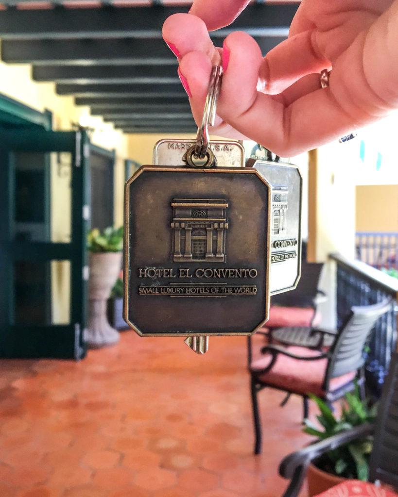 Hotel El Convento keys San Juan, Puerto Rico