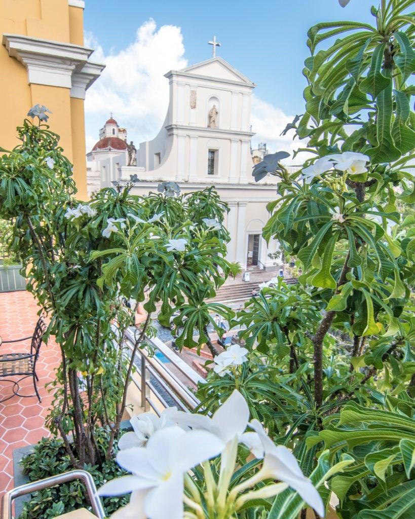 Rooftop view at Hotel El Convento