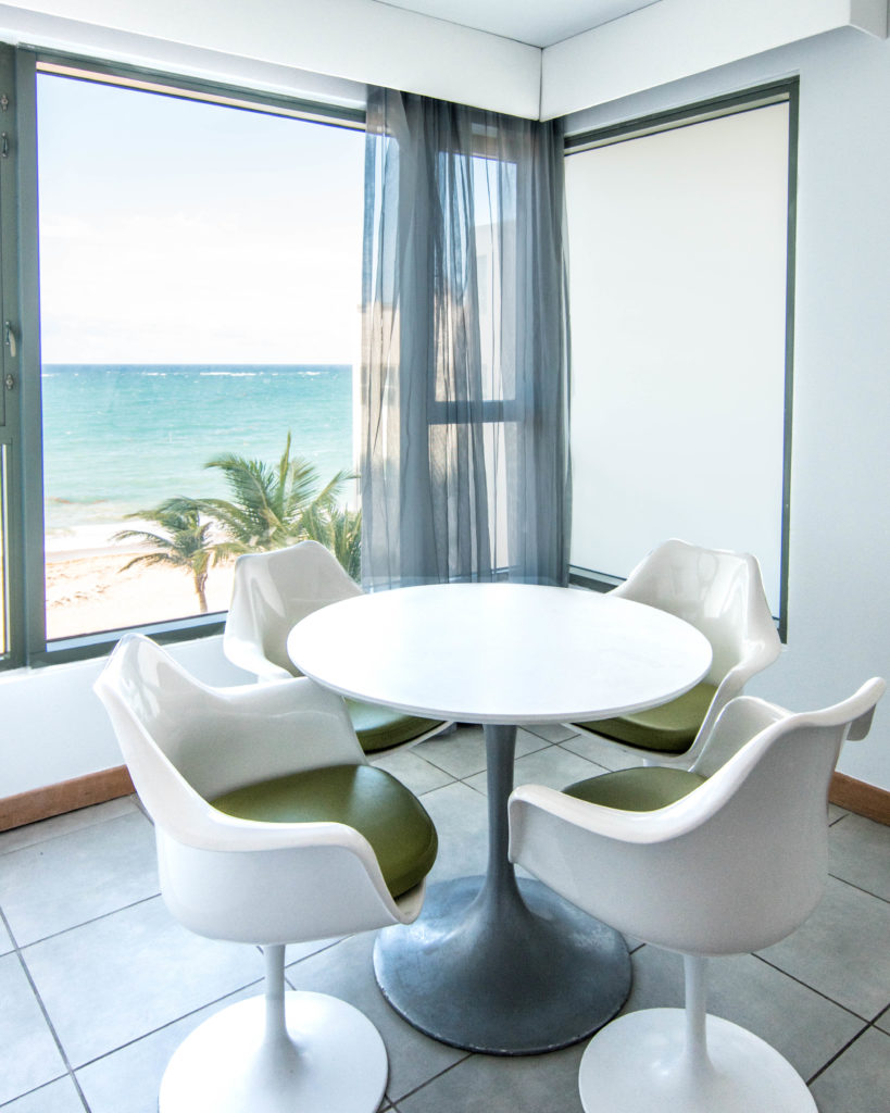 Kitchen seating area La Concha Resort San Juan, Puerto Rico