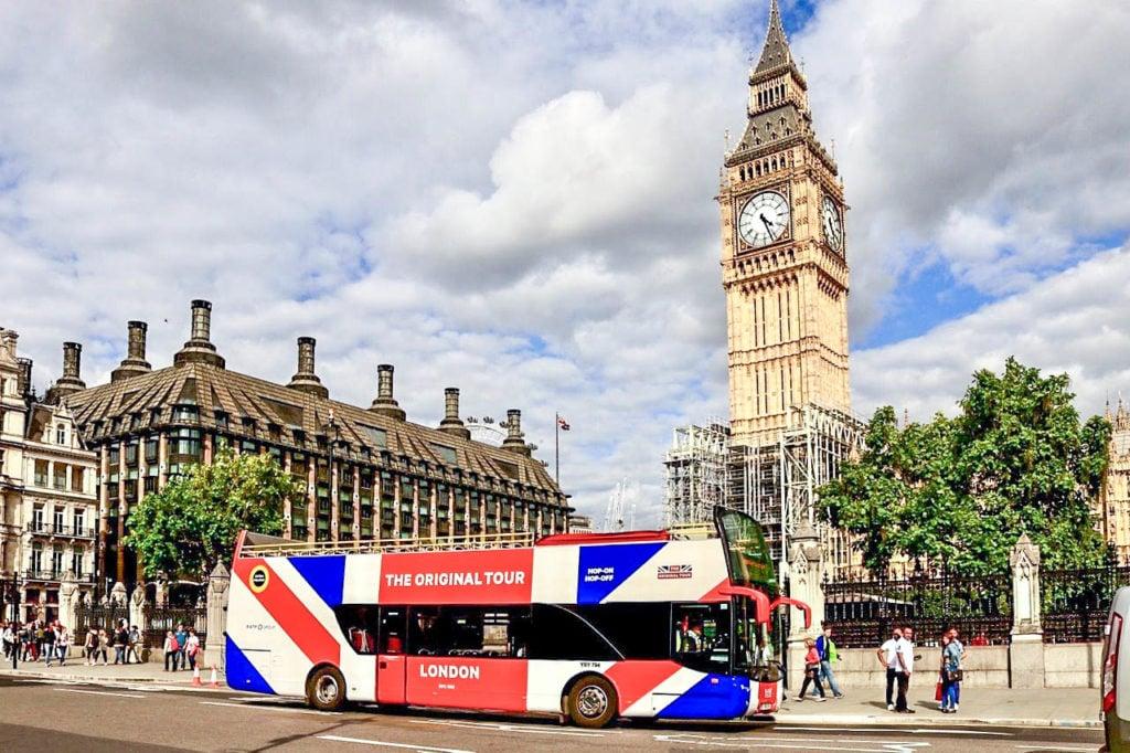 hop on hop off bus tour london