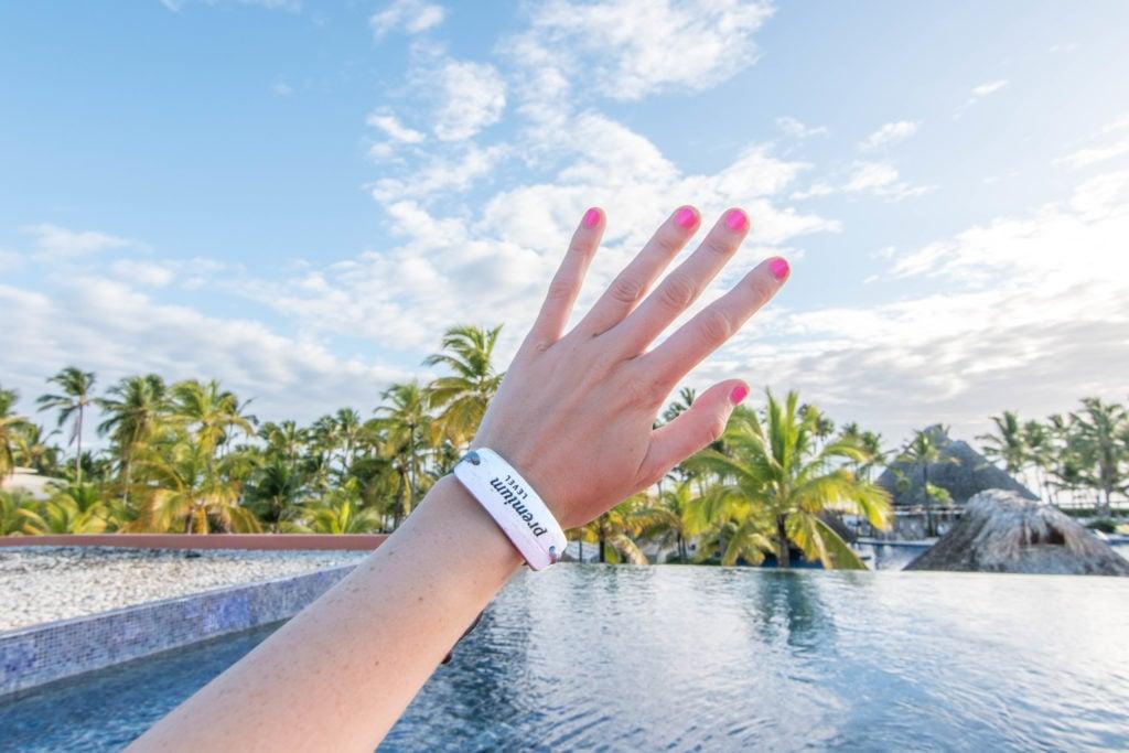 Barceló Bávaro Grand Resort premium level wristband