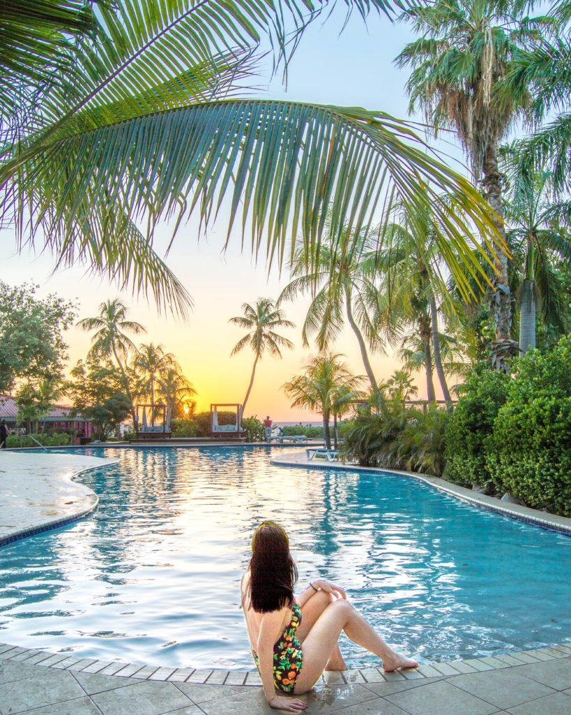 Hilton Curaçao pool