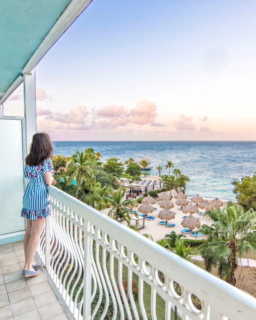 View from Hilton Curaçao balcony
