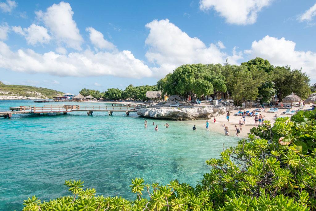 Beach at the Hilton Curaçao