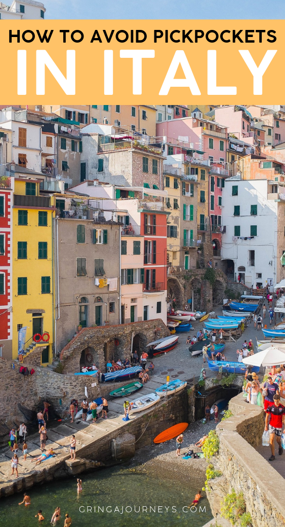 I'm sharing a few tips on how to avoid pickpockets in Italy. Give this article a quick read-through and decide how meticulous you want to be! #italy #italytravel #travelsafety