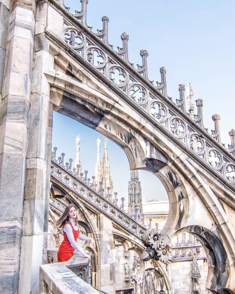 """Whether you'll be in """"The Fashion Capital of the World"""" for a day or more, you'll definitely want to check out the most photo worthy spots in Milan, Italy! #milan #italy #italytravel"""