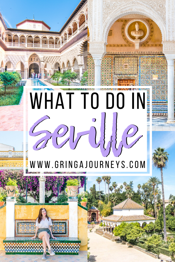 Seville is a great place for an intro to Spain, with tapas and sangria around every corner. Keep reading for the best things to do in Seville Spain! #seville #spain #traveltips #travelguide #traveleurope | seville spain things to do in | seville spain photography | seville itinerary | seville photography | what to do in seville spain | best things to do in seville | top things to do in seville | places to visit in seville | seville travel guide | seville spain travel | travel to seville