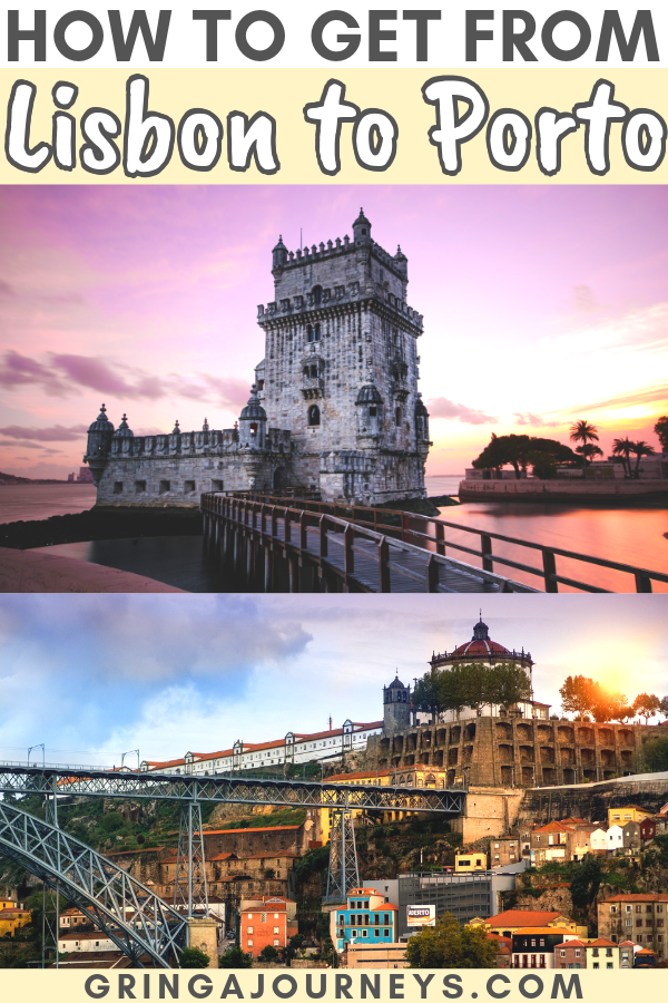 In this article, we'll talk about how to get from Lisbon to Porto by train, bus, plane, and car. Plus, the steps to take to plan a Lisbon to Porto day trip. #lisbon #porto #portugal #lisboa #oporto #portugaltravel
