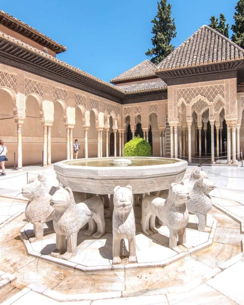 The Court of the Lions at the Alhambra