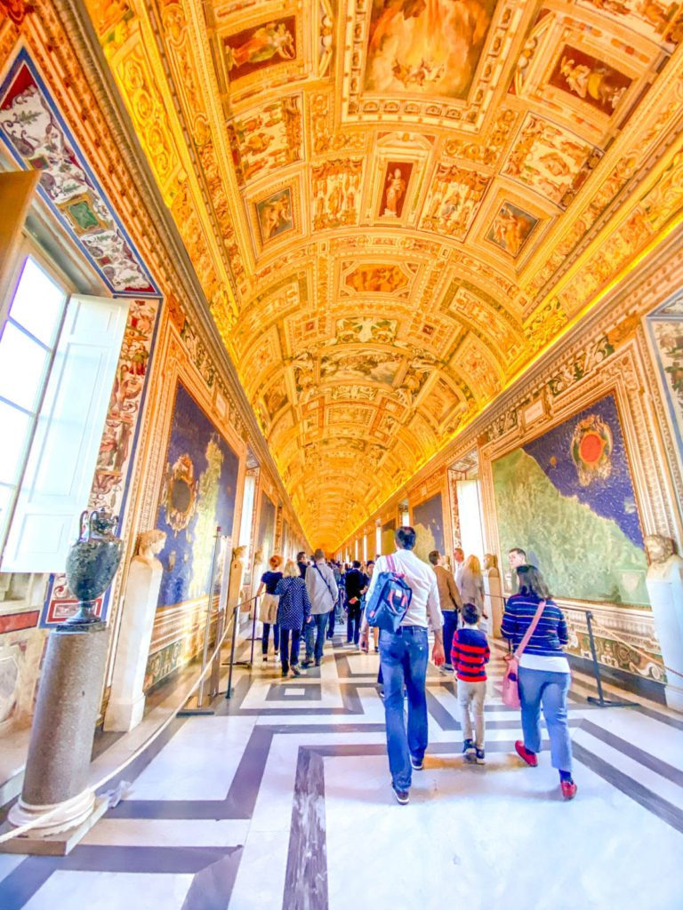 The Gallery of Maps at the Vatican
