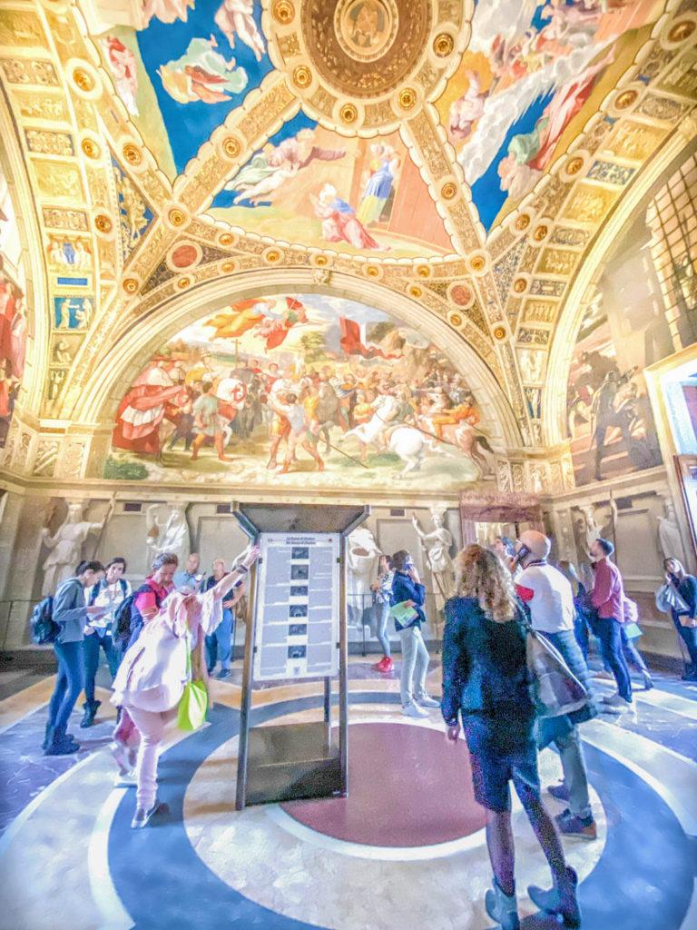 Raphael's Rooms at the Vatican