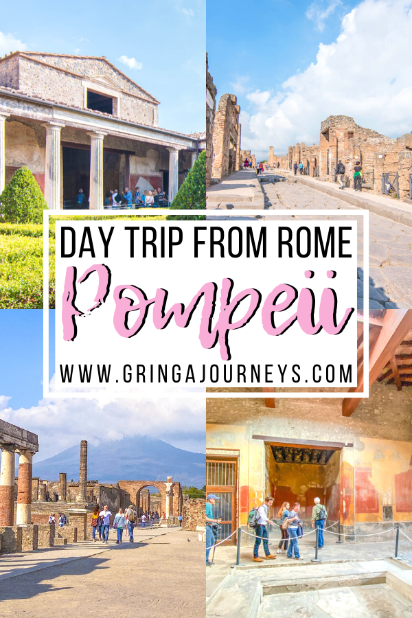 Need an easy day trip from Rome? I'll explain why you should visit Pompeii, the main attractions you'll find here, and how to visit on a small guided tour.