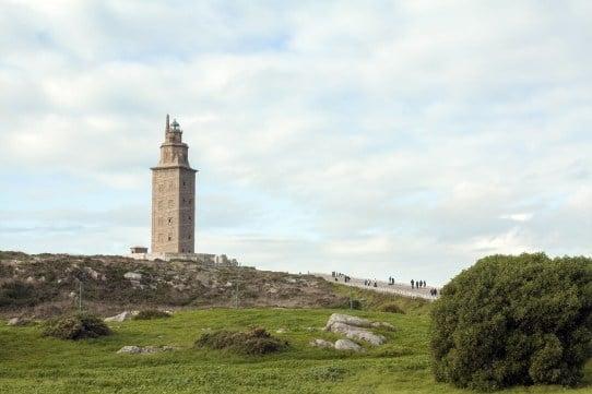 A Coruña hercules tower