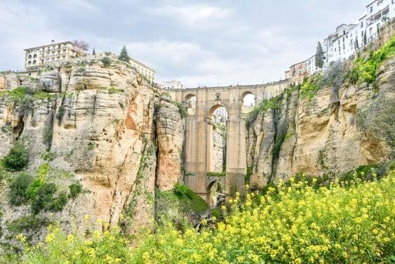 Photo showing the New Bridge in Ronda, Spain