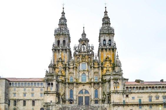 Santiago de Compostela cathedral façade