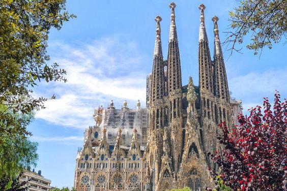 La Sagrada Familia in Barcelona