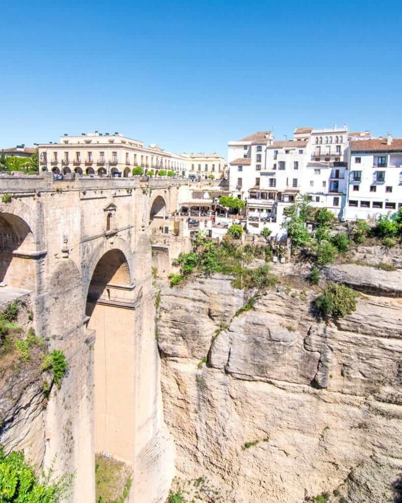 View of Puente Nuevo in Ronda, Spain