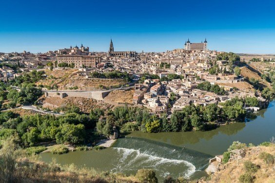A city view of Toledo, Spain