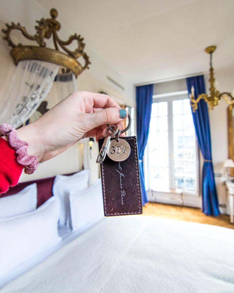 Saint James Paris room key