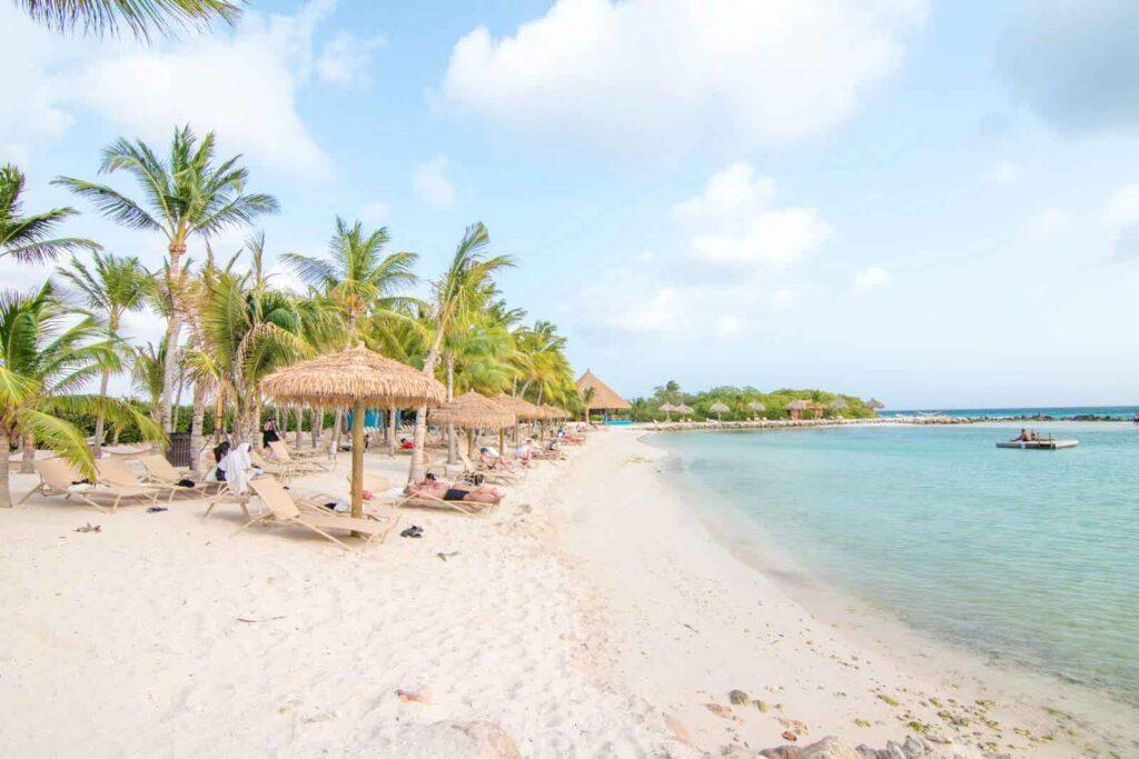 Photo of Iguana Beach on Renaissance Aruba Private Island