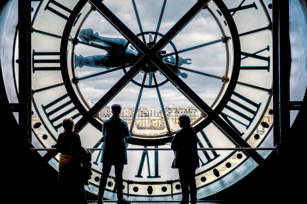 The Musée d'Orsay in Paris, France