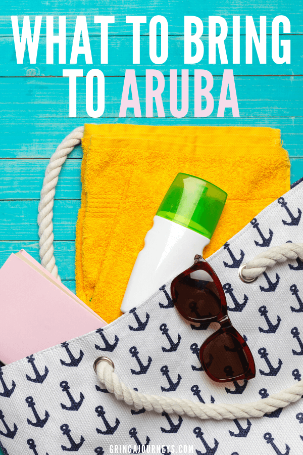 Don't forget anything at home with this Aruba packing list! Learn what to wear in Aruba, what to pack for the beach, and other essential items to pack for an Aruba vacation.   what to wear in the evening in aruba   packing list for vacation aruba   things to pack aruba   aruba dress code   packing list for aruba   what to pack for aruba vacation   what to bring to aruba   things to bring to aruba   what to wear in aruba