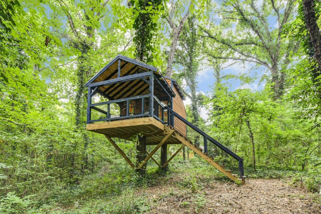 Oasis Treehouse in Canton, GA
