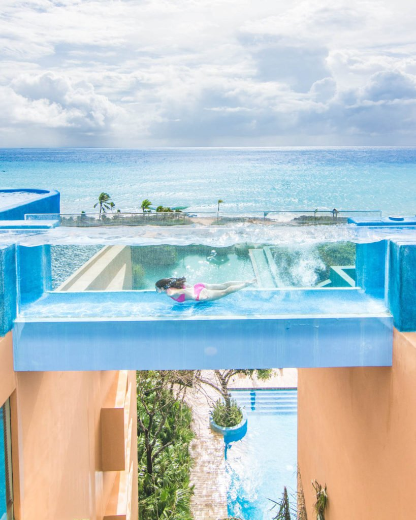 Adults only pool at Hotel Xcaret Mexico