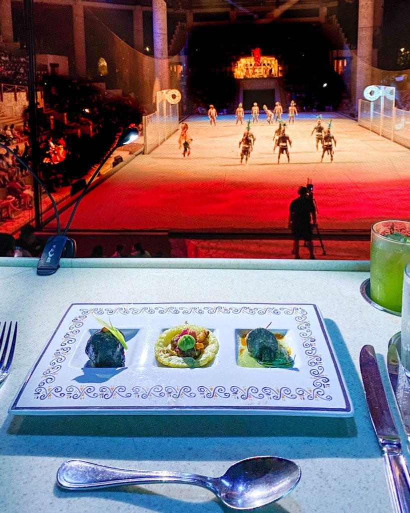 The Mexico Espectacular dinner at Xcaret Park