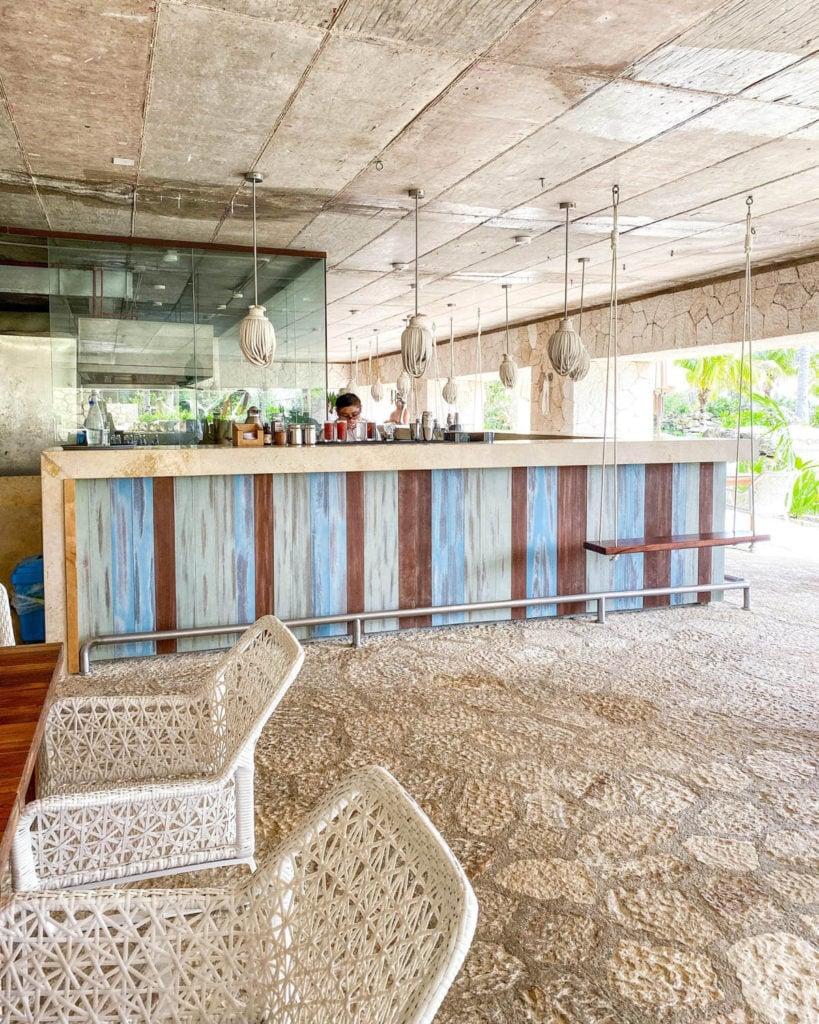 Las Playas restaurant at Hotel Xcaret Mexico