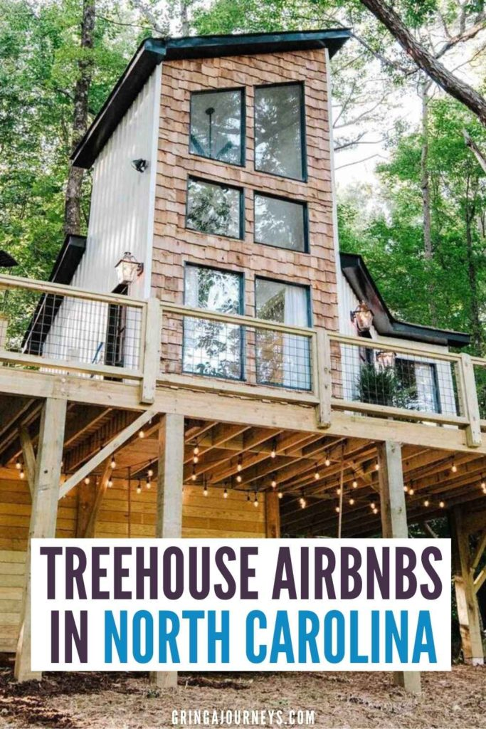 Learn about the best North Carolina treehouse rentals, with locations in and around Asheville, Charlotte, and other areas in North Carolina. | treehouse rentals nc airbnb | treehouses in north carolina mountains | treehouse rentals in asheville nc | treehouse rentals near charlotte nc | airbnb asheville treehouse | treehouse rentals in north carolina