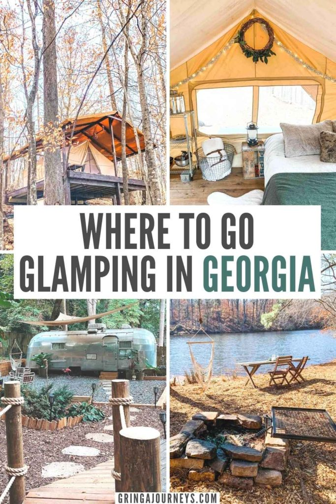 Looking to go glamping in Georgia? Discover the state's best glamping experiences, including yurts, campers, treehouses, bell tents, and more! | glamping dome georgia | family glamping in Georgia | glamping georgia airbnb | yurts in Georgia | yurt camping in Georgia | glamping north Georgia | ga glamping | yurt rental georgia | treehouse rentals in georgia