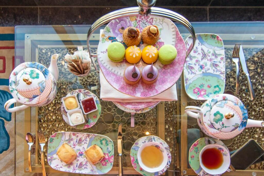 Afternoon tea at the Waldorf Astoria Las Vegas