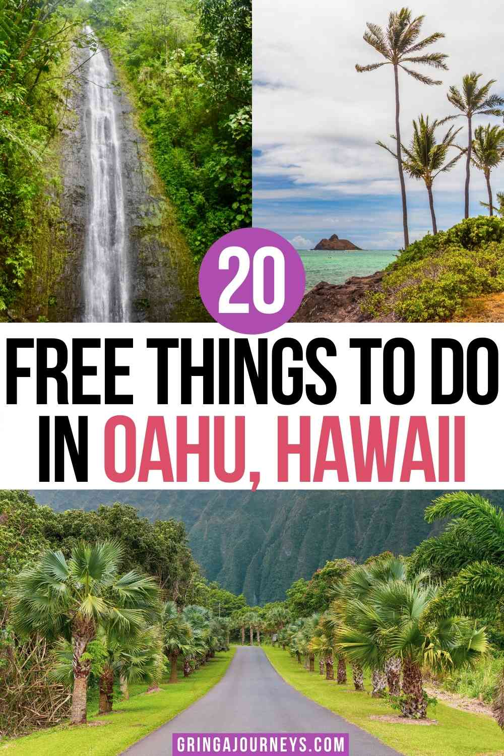 Discover 20 free things to do in Oahu, Hawaii, including free activities in Honolulu, on the North Shore, and on the Windward Coast. | free things to do in oahu 2021 | free things to do north shore oahu | free things to do in honolulu at night | things to do in honolulu for free | things to do in oahu for free | free things to do in Waikiki | cheap things to do in oahu | best free things in oahu